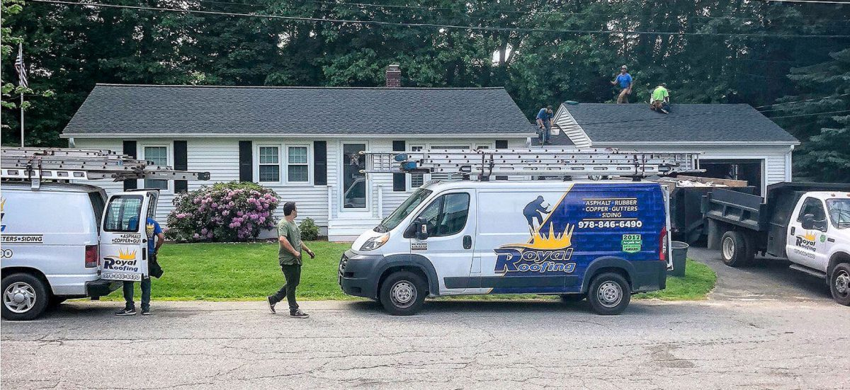 Roofing Company in Lancaster, Massachusetts
